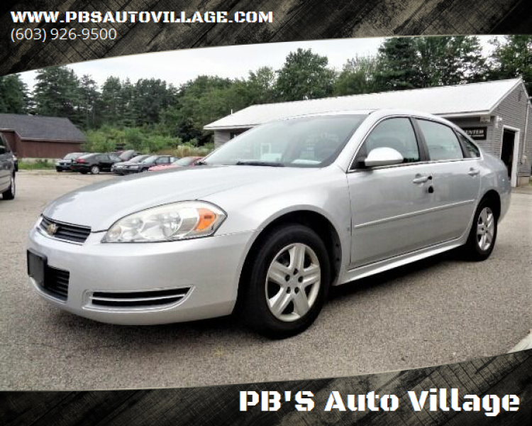 2010 Chevrolet Impala for sale at PB'S Auto Village in Hampton Falls NH