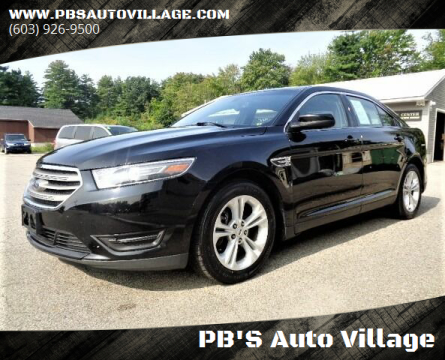 2016 Ford Taurus for sale at PB'S Auto Village in Hampton Falls NH