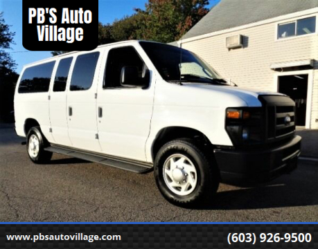 2014 Ford E-Series Cargo for sale at PB'S Auto Village in Hampton Falls NH