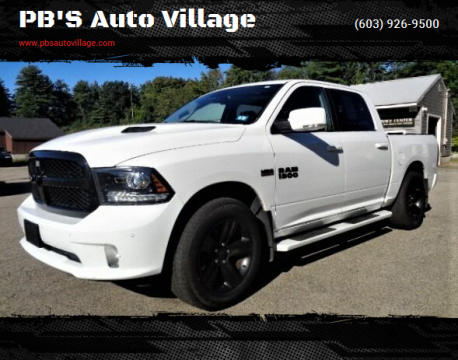 2018 RAM Ram Pickup 1500 for sale at PB'S Auto Village in Hampton Falls NH