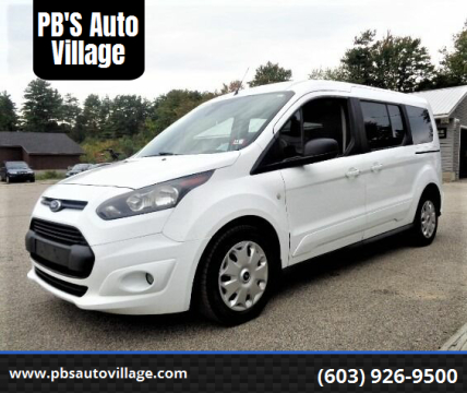 2015 Ford Transit Connect Wagon for sale at PB'S Auto Village in Hampton Falls NH