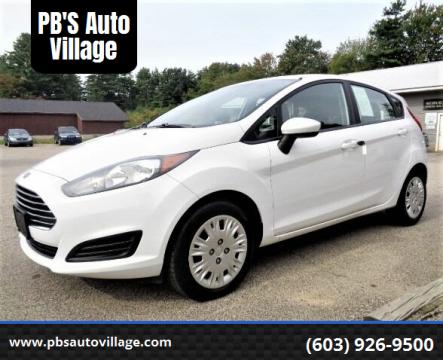 2016 Ford Fiesta for sale at PB'S Auto Village in Hampton Falls NH