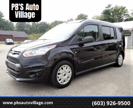 2017 Ford Transit Connect Wagon for sale at PB'S Auto Village in Hampton Falls NH