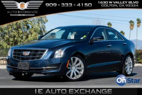 2017 Cadillac ATS 2.0T Luxury for sale at IE AUTO EXCHANGE in Colton CA