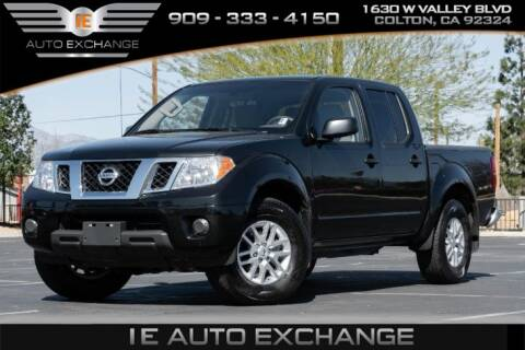 2019 Nissan Frontier SV for sale at IE AUTO EXCHANGE in Colton CA