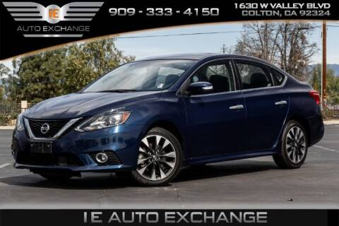2019 Nissan Sentra SR TURBO for sale at IE AUTO EXCHANGE in Colton CA