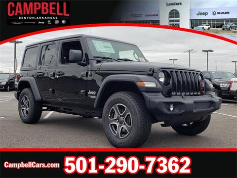 2020 Jeep Wrangler Unlimited for sale in Benton, AR