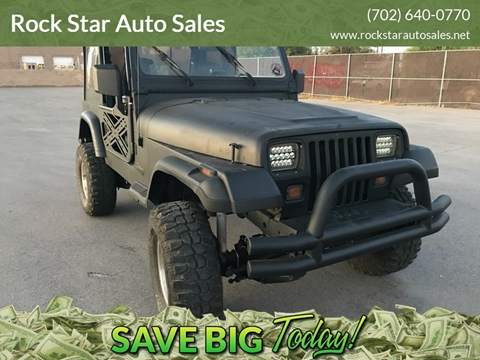 1994 Jeep Wrangler for sale in Las Vegas, NV