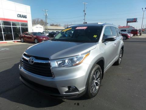 2016 Toyota Highlander for sale in Madison, IN