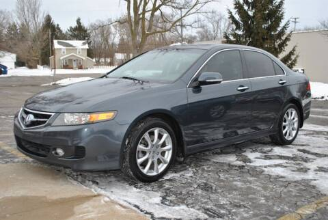 2008 Acura TSX for sale at Sovereign Auto in Flushing MI