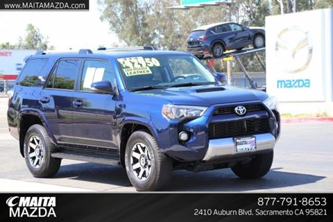 2017 Toyota 4Runner for sale in Sacramento, CA