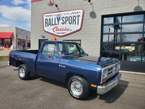 1986 Dodge RAM 150 for sale at Rally Sport Classics in Canton OH