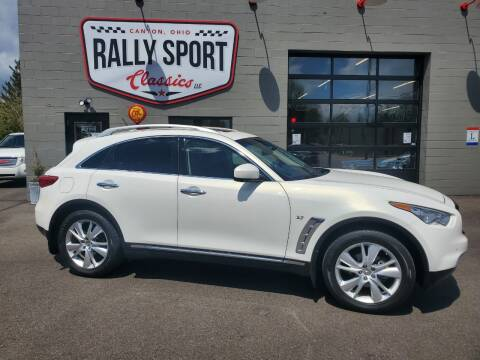 2015 Infiniti QX70 for sale at Rally Sport Classics in Canton OH