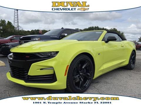 2019 Chevrolet Camaro for sale in Starke, FL