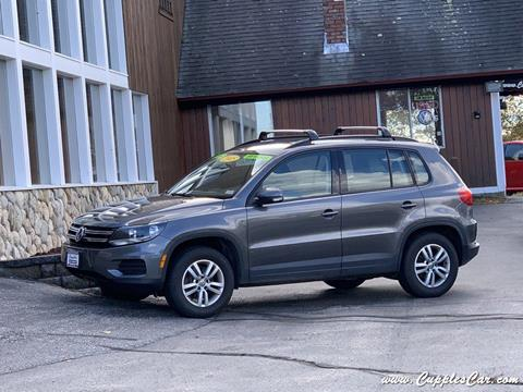 2015 Volkswagen Tiguan for sale in Belmont, NH