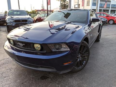 2011 Ford Mustang for sale in Hollywood, FL