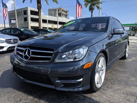 2014 Mercedes-Benz C-Class for sale in Hollywood, FL