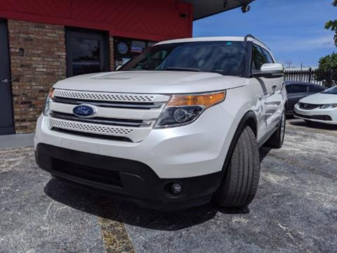 2012 Ford Explorer for sale in Hollywood, FL