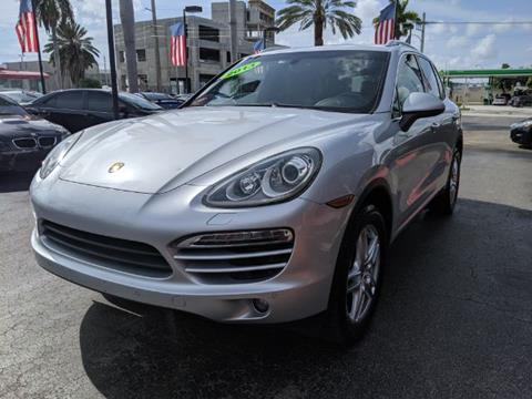 2013 Porsche Cayenne for sale in Hollywood, FL