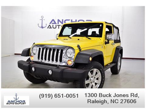 2011 Jeep Wrangler for sale in Raleigh, NC