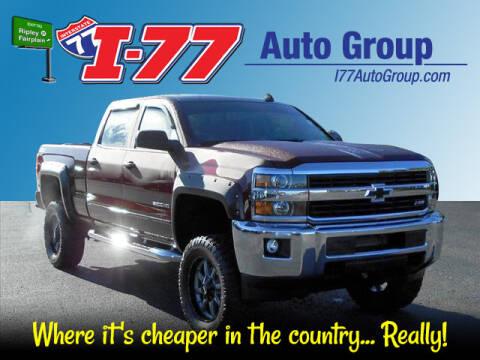 2017 Chevrolet Silverado 2500HD for sale at I-77 AutoGroup in Ripley WV