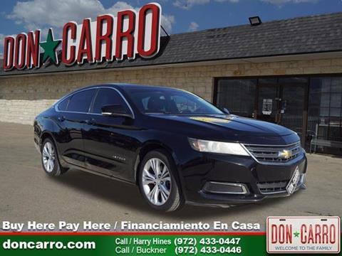 2014 Chevrolet Impala for sale in Dallas, TX