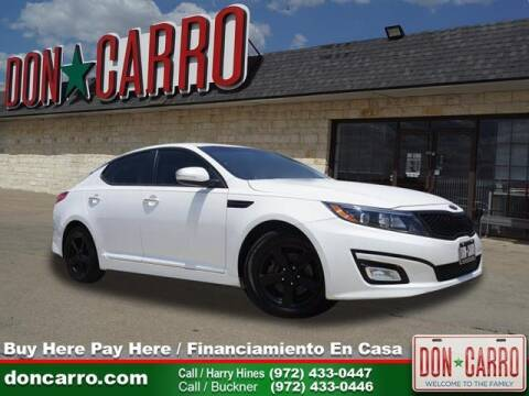 2015 Kia Optima for sale in Dallas, TX
