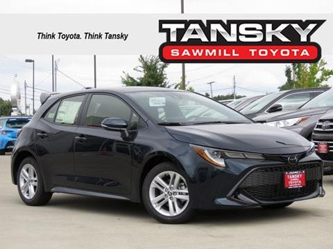 2019 Toyota Corolla Hatchback for sale in Dublin, OH