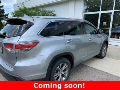 2015 Toyota Highlander XLE for sale at Tansky Sawmill Toyota in Dublin OH