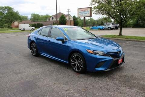 2019 Toyota Camry SE for sale at Tansky Sawmill Toyota in Dublin OH
