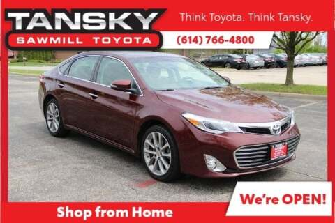 2014 Toyota Avalon XLE Touring for sale at Tansky Sawmill Toyota in Dublin OH