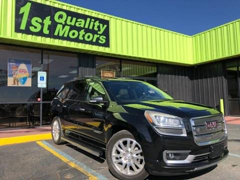 2016 GMC Acadia for sale at 1st Quality Motors LLC in Gallup NM