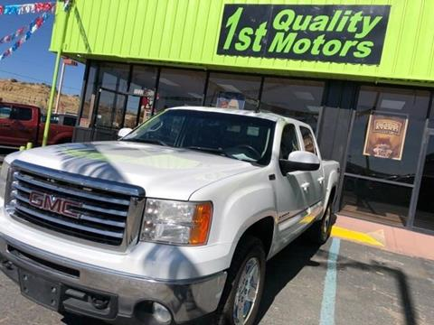 2013 GMC Sierra 1500 for sale at 1st Quality Motors LLC in Gallup NM