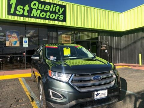 2015 Ford Edge for sale at 1st Quality Motors LLC in Gallup NM