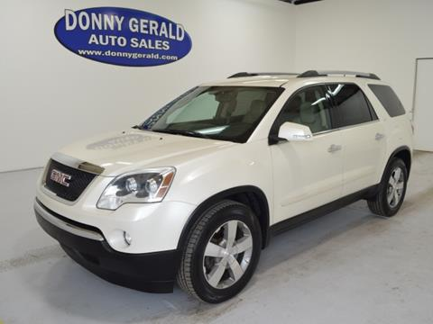 2012 GMC Acadia for sale in Mullins, SC