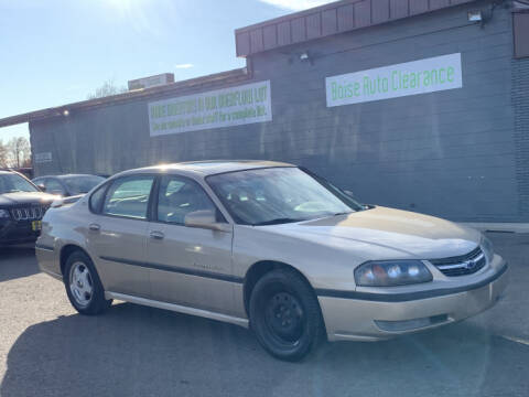 2000 Chevrolet Impala for sale in Boise, ID