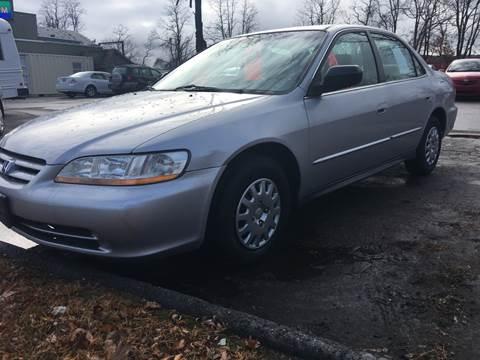 2001 Honda Accord for sale in Brattleboro, VT