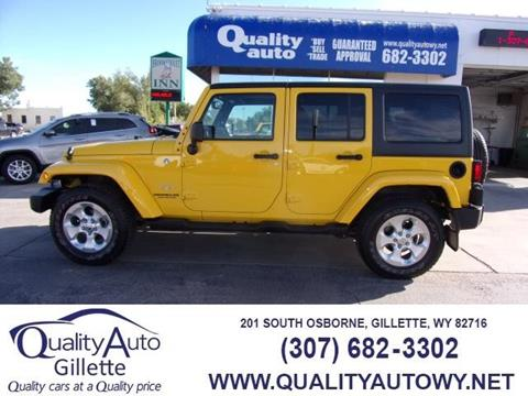 2015 Jeep Wrangler Unlimited for sale in Rapid City, SD