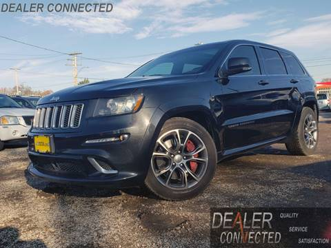 2012 Jeep Grand Cherokee SRT8 for sale at DEALER CONNECTED INC in Detroit MI