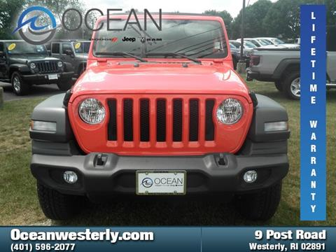 2018 Jeep Wrangler Unlimited for sale in Westerly, RI