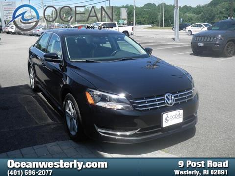 2013 Volkswagen Passat for sale in Westerly, RI