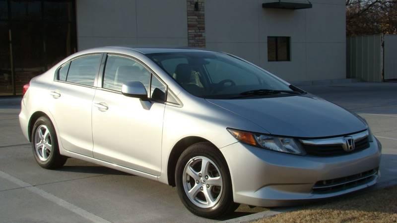 2012 Honda Civic Natural Gas with Navigation