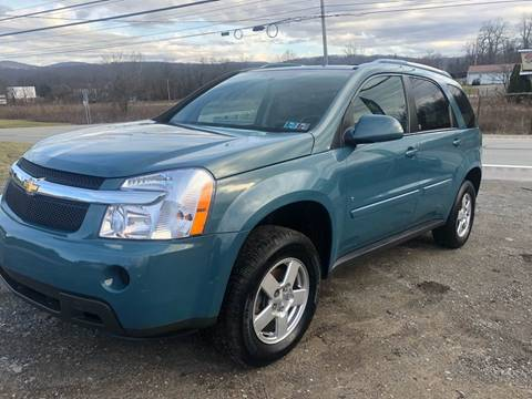 2008 Chevrolet Equinox LT for sale at Best For Less Auto Sales & Service LLC in Dunbar PA