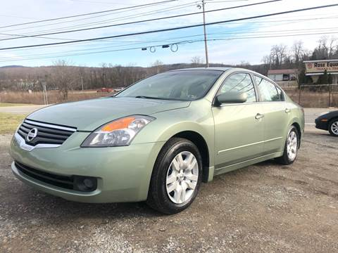 2008 Nissan Altima 2.5 S for sale at Best For Less Auto Sales & Service LLC in Dunbar PA