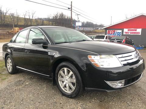 2008 Ford Taurus SEL for sale at Best For Less Auto Sales & Service LLC in Dunbar PA