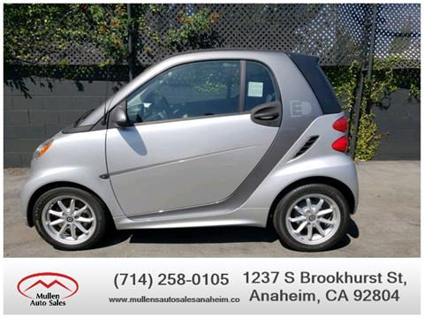 2016 Smart fortwo electric drive for sale in Anaheim, CA