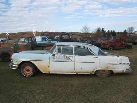 1956 Pontiac Sedan for sale at Dick's Auto in Minot ND