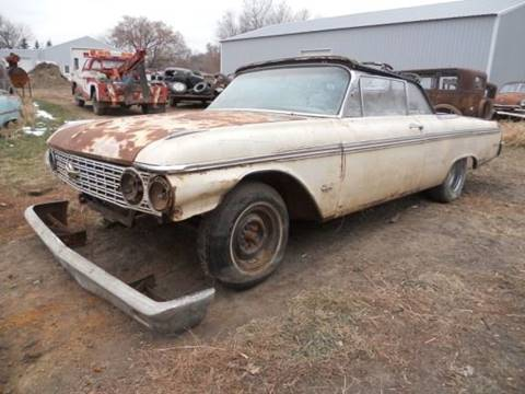 1962 Ford Sunliner for sale at Dick's Auto in Minot ND