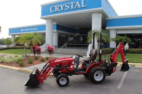 2020 MAHINDRA EMAX 25 BACKHOE LOADER for sale at Crystal Tractor in Chiefland FL