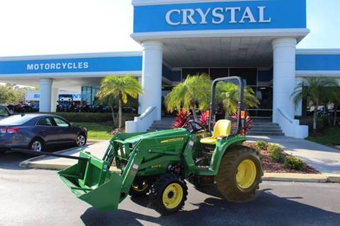2018 John Deere 3032E for sale at Crystal Tractor in Chiefland FL